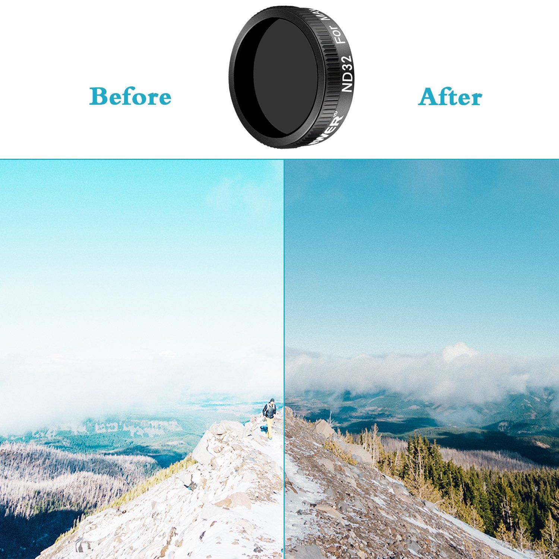 Neewer DJI Mavic Air Lens Filter Accessory Kit Includes