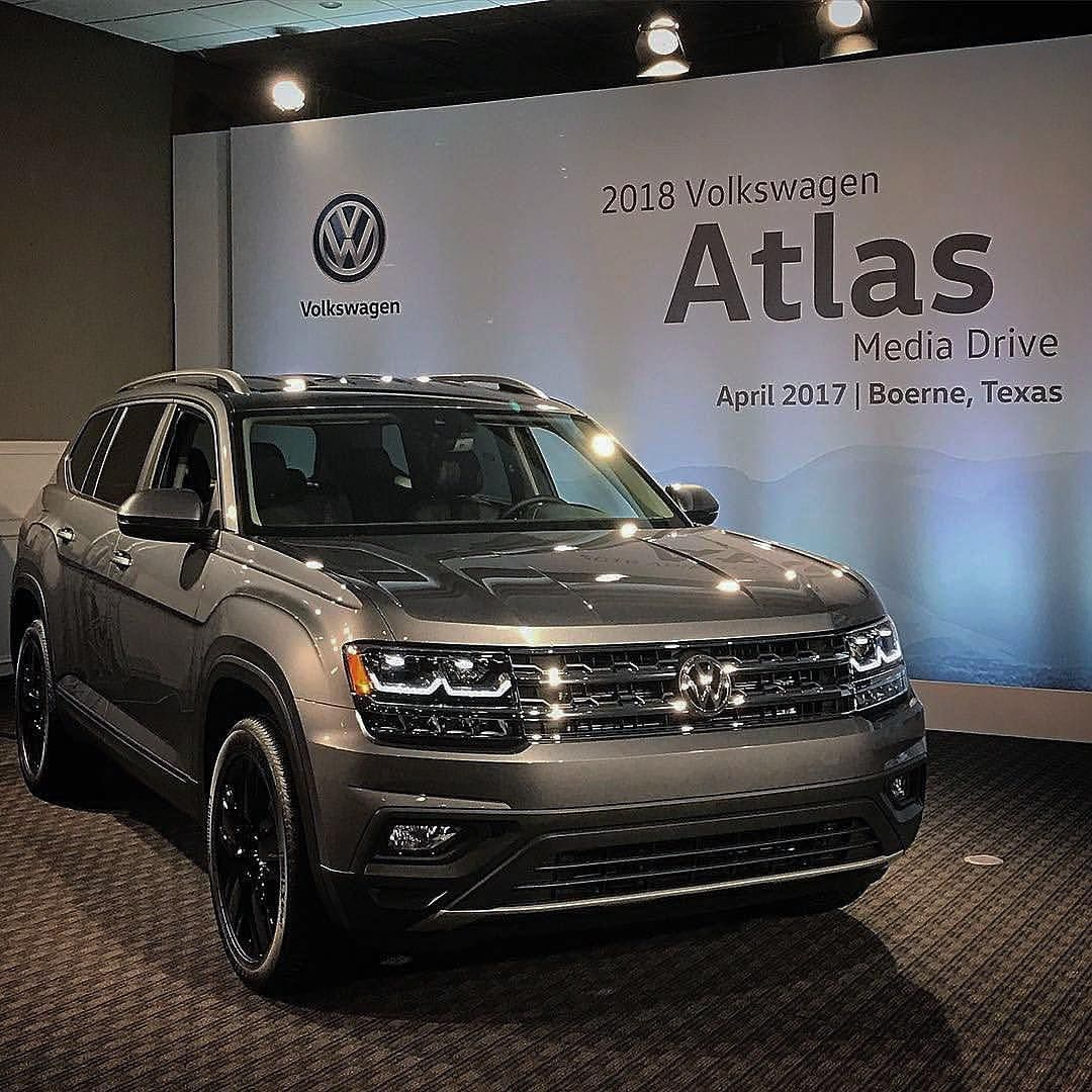 2018 VW Atlas | Auto Show VWs | Pinterest | Cars ...