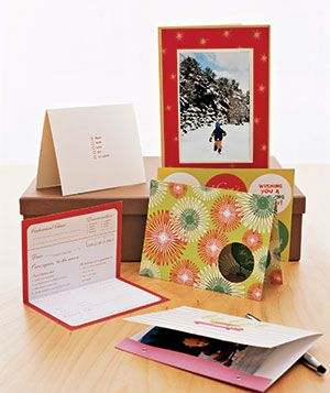 Holiday Card Checklist- Maybe this will help me get them out this year!