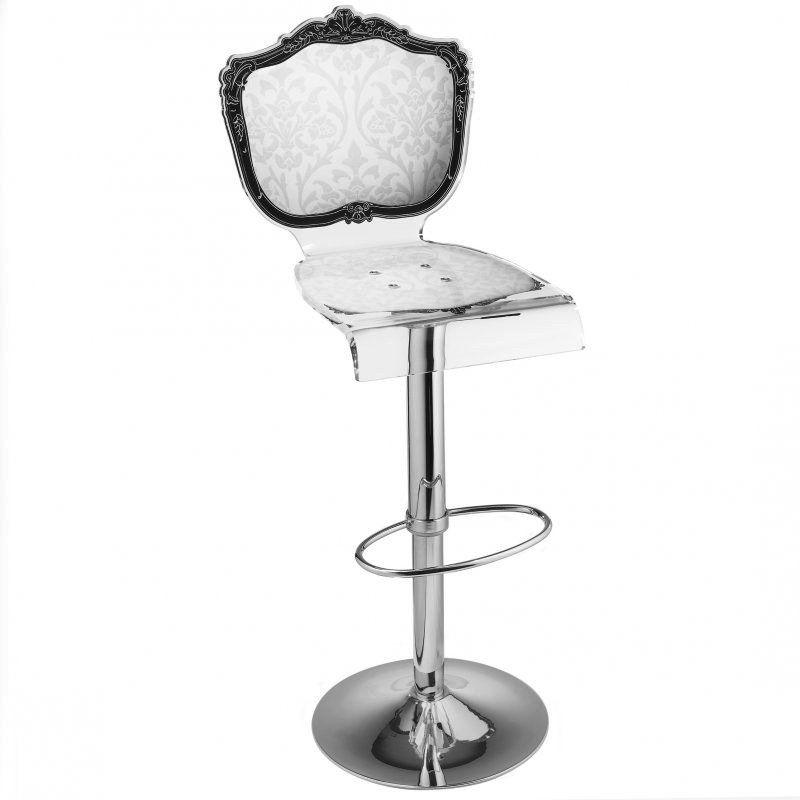 http://inside75.com/design/chaises/baroque-tabouret-bar-blanc ... - Chaise De Bar Blanche
