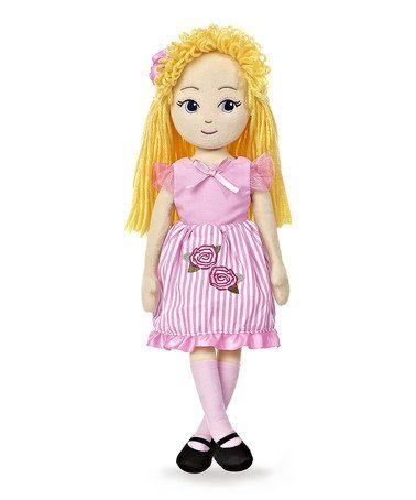 Love this Victoria Sweets Maddie Plush Doll on #zulily! #zulilyfinds