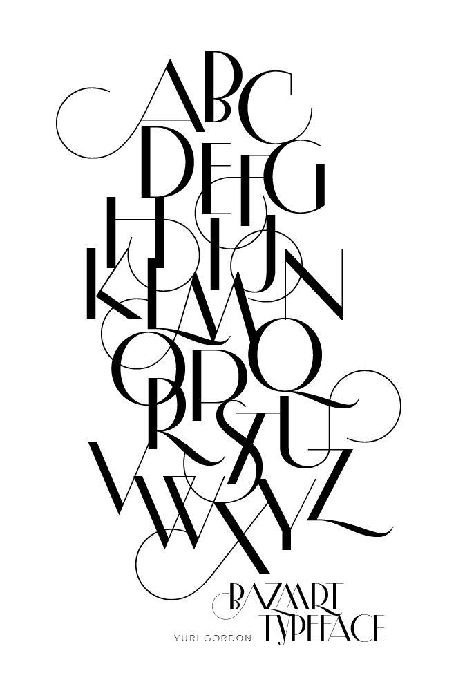 Bazaart Typeface
