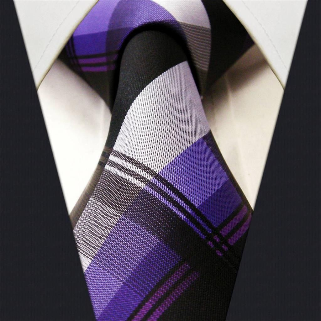 Black / Purple Stripe - Neckties Only Collection - NTO-D20 >>>$14.95 w/ Free shipping @ NecktiesOnly.com