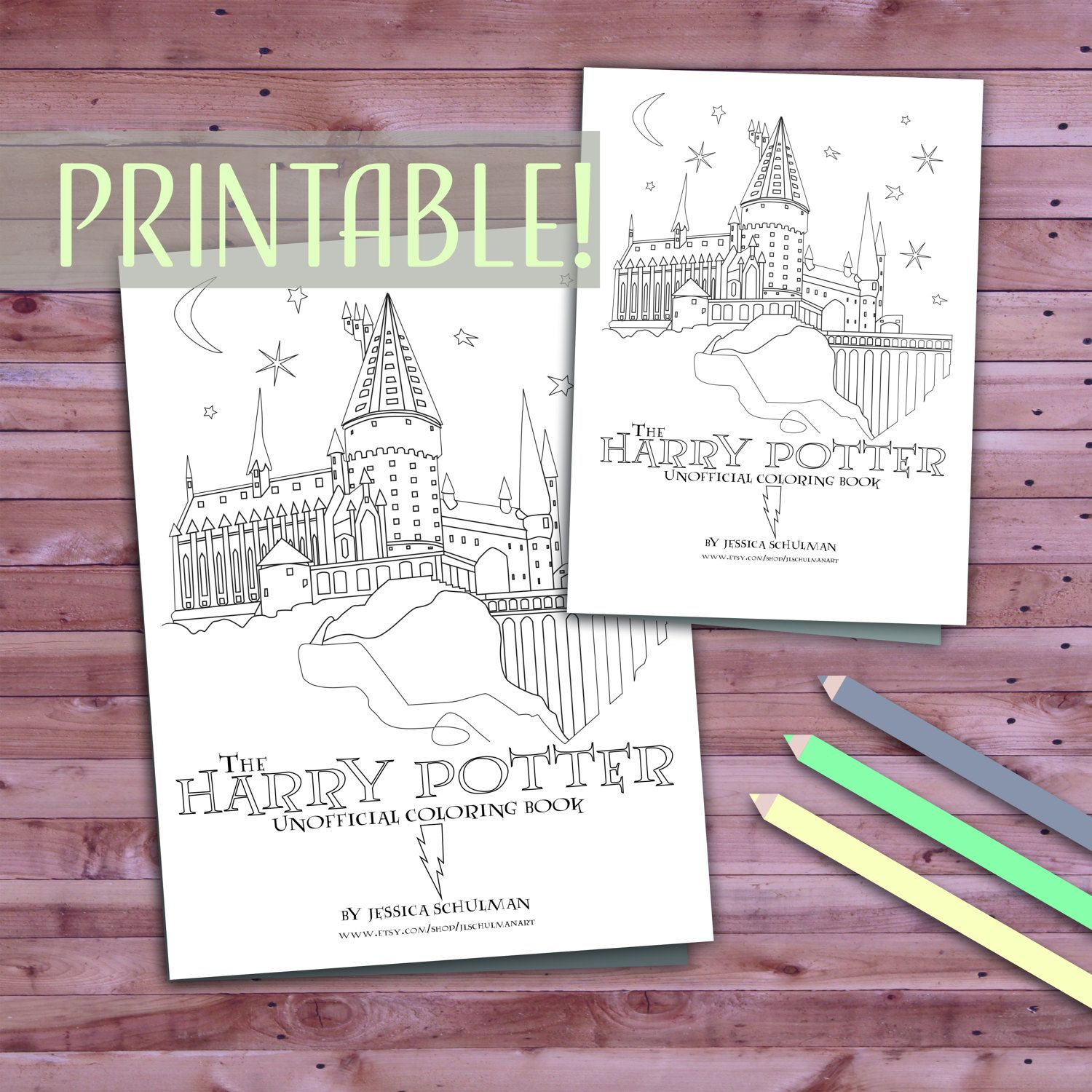 Printable Harry Potter Coloring Book Pages Download Fan