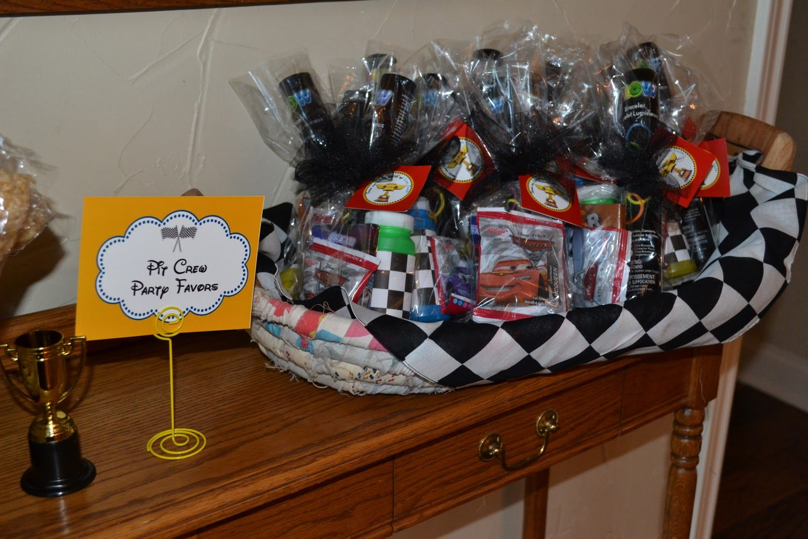 Disney Cars Goodie Bags