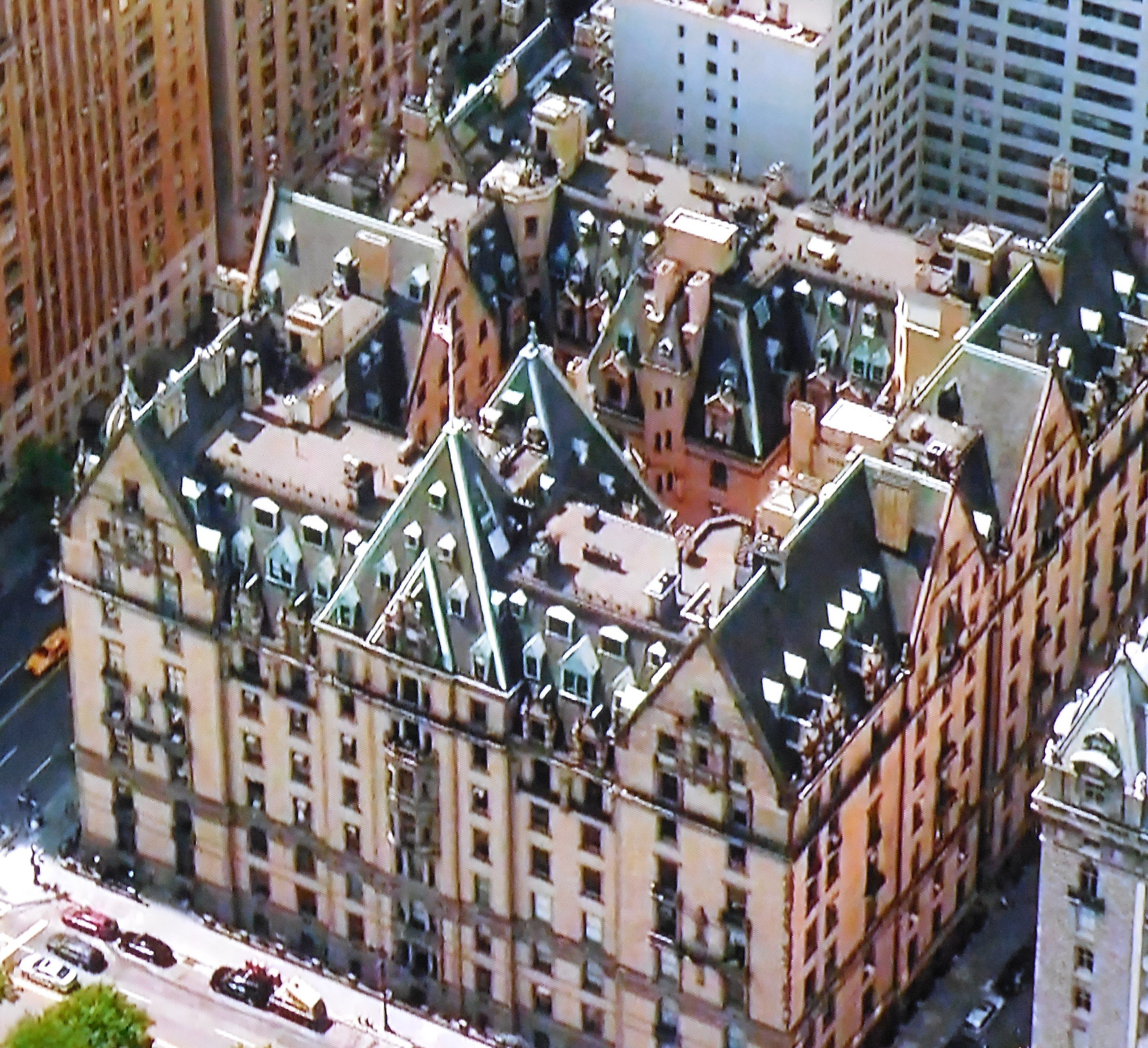 THE DAKOTA Apartments On 72nd Street And Central Park West