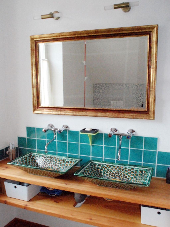 Badezimmer Einrichten Ideen Fur Jede Grosse Badezimmer Aufsatzwaschbecken Moderne Waschbecken
