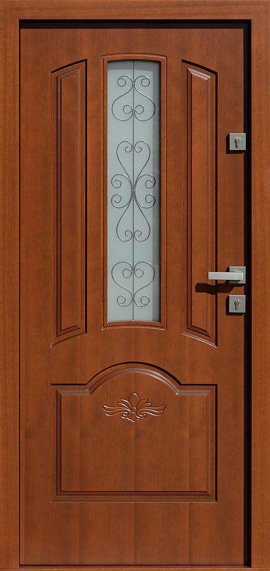 Exterior wooden doors with glass model 502.8 + d1-ds1 in …