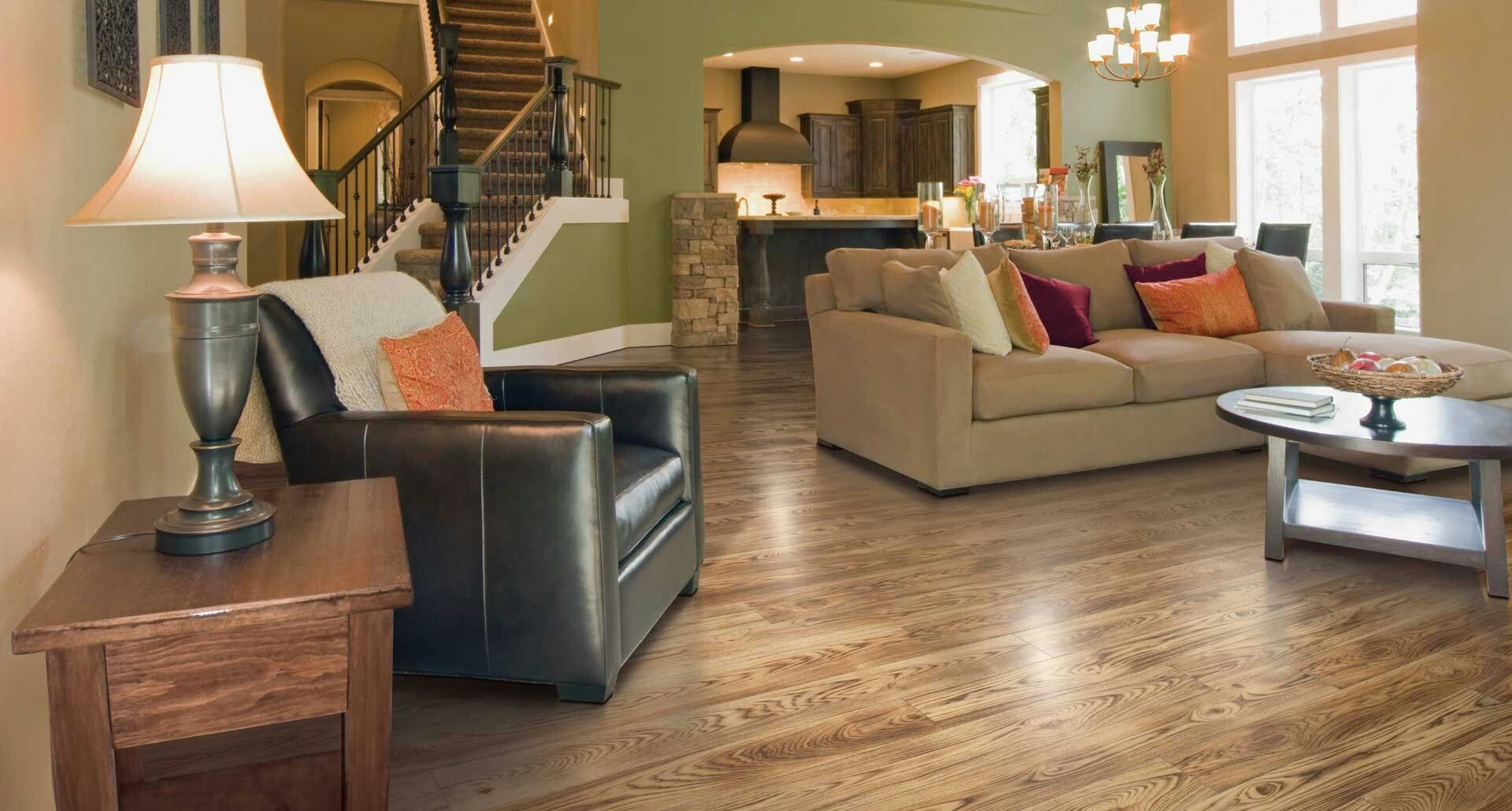 Pergo Smoked Hickory Flooring For Stairs Flooring Flooring Inspiration