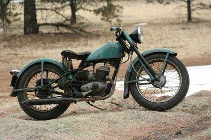 4 500 1956 Harley Hummer 165 For Sale In Guffey Colorado Classified Hummer Harley Classic Bikes