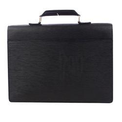 Louis Vuitton Black Epi Leather Ambassador Briefcase