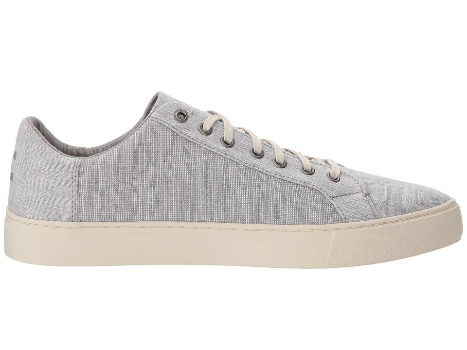 d40ca697e66 TOMS Lenox Men s Lace up casual Shoes Drizzle Grey Chambray Mix ...