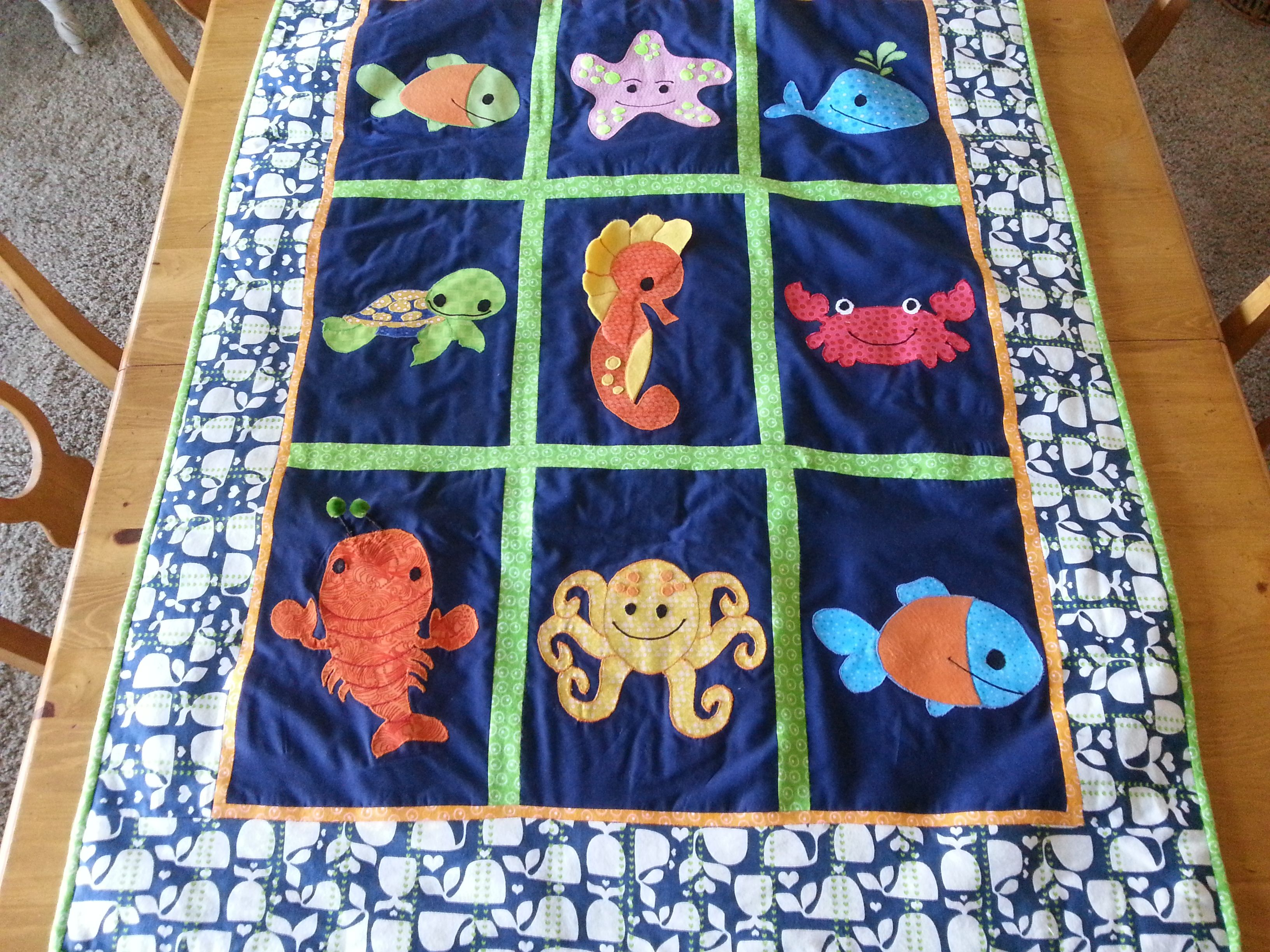 Pin by janine becker on baby baby quilt patterns ocean