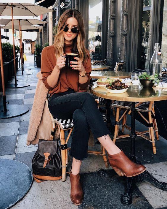 16 bequeme Herbstbrunch Outfits für Damen - Frauen Mode