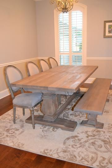 Home Decorators Collection Aldridge Antique Grey Extendable Dining Table 1673000270 At The Depot