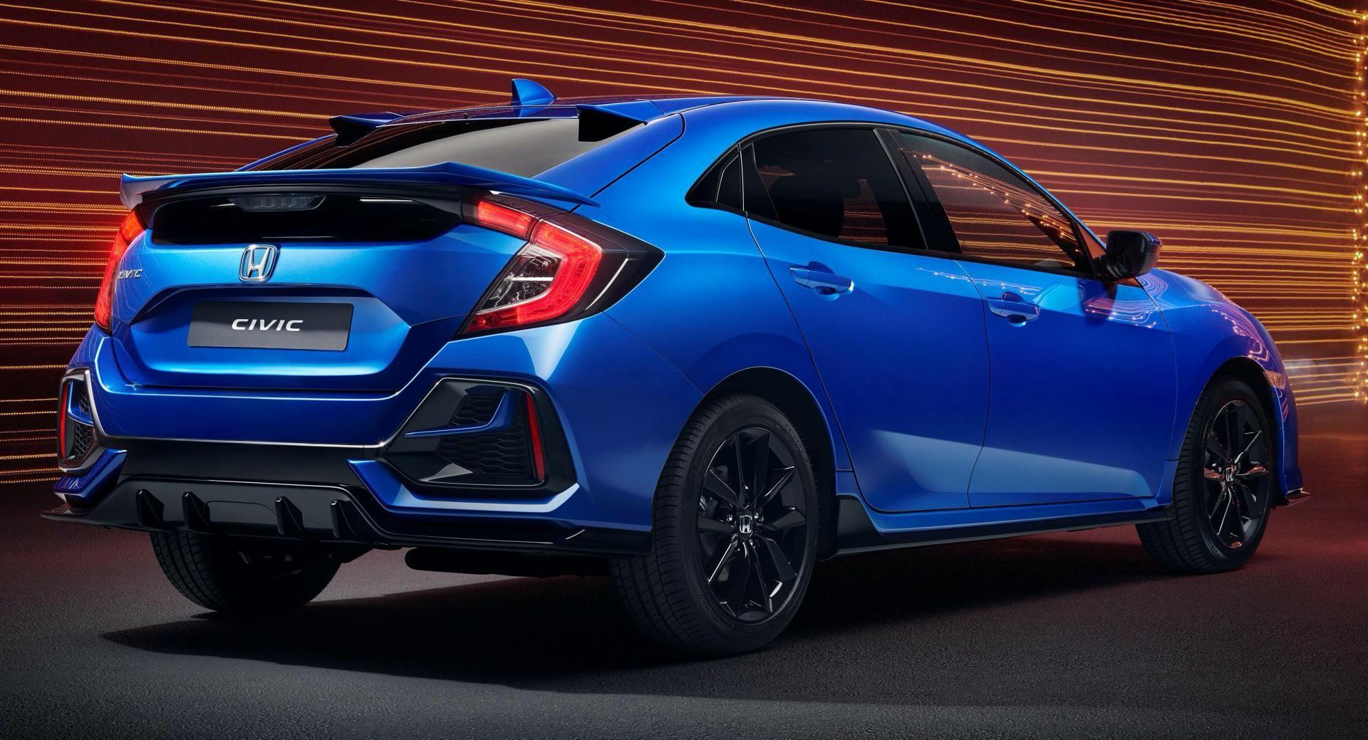 2020 Honda Civic Sport Line Mixes Type RInspired Design