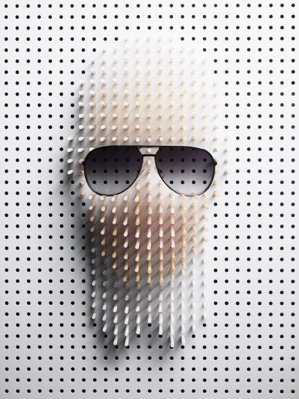 Pin Art Portraits | thaeger - blog this way