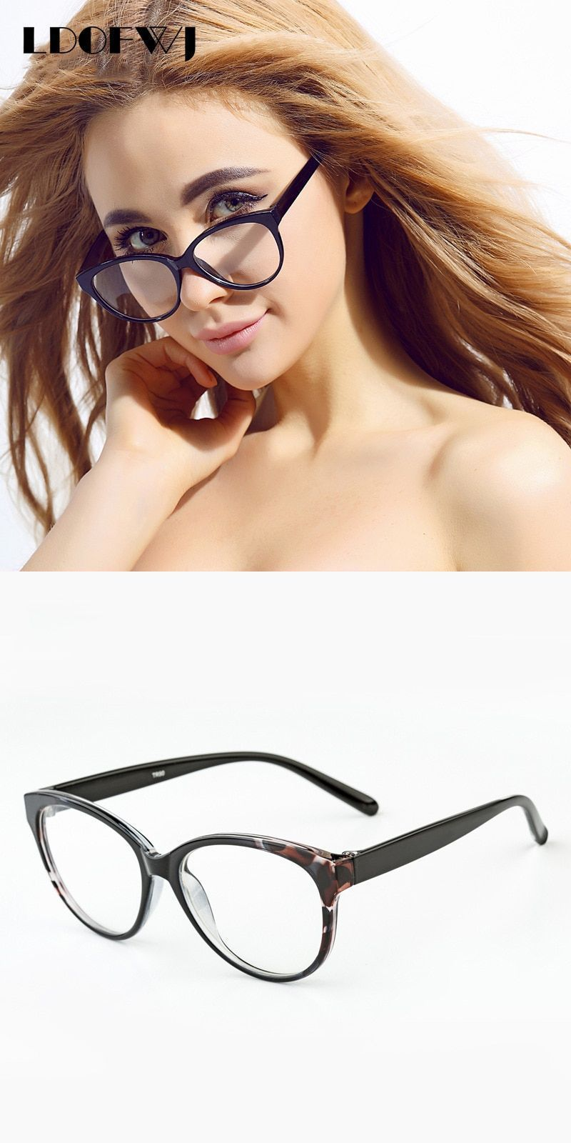 0f5f9752439 Tr 90 optical glasses frame black brown purple eyeglasses fresh myopia  spectacle student fashion prescription for women  frames  eyewear   accessories  women ...