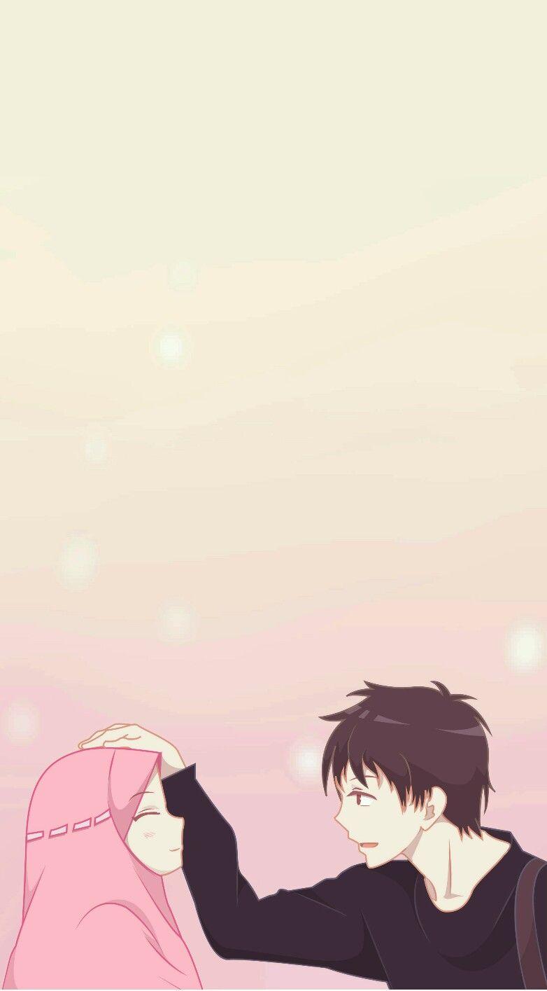 Anime Kartun Muslimah Couple Anime Wallpapers
