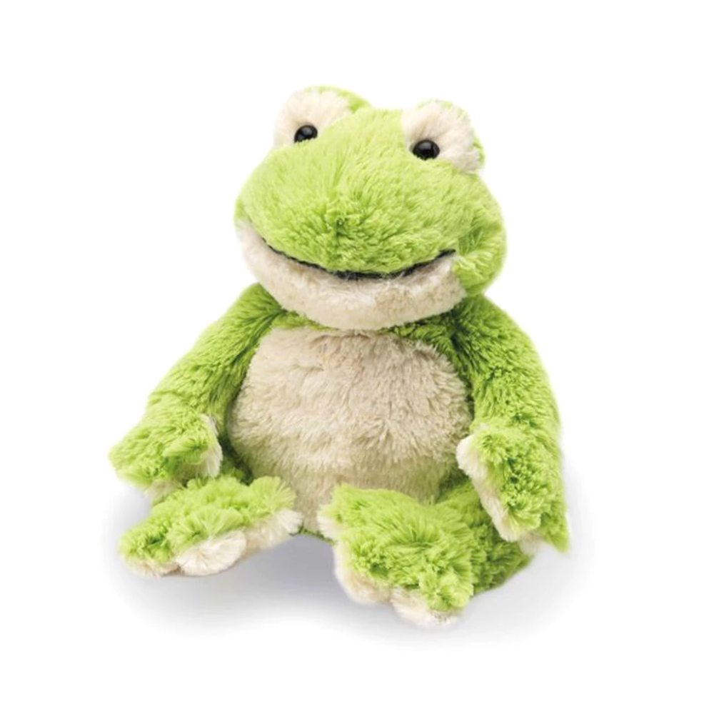 "Warmies® 13"" Frog Frog, Plush, Soft toy"