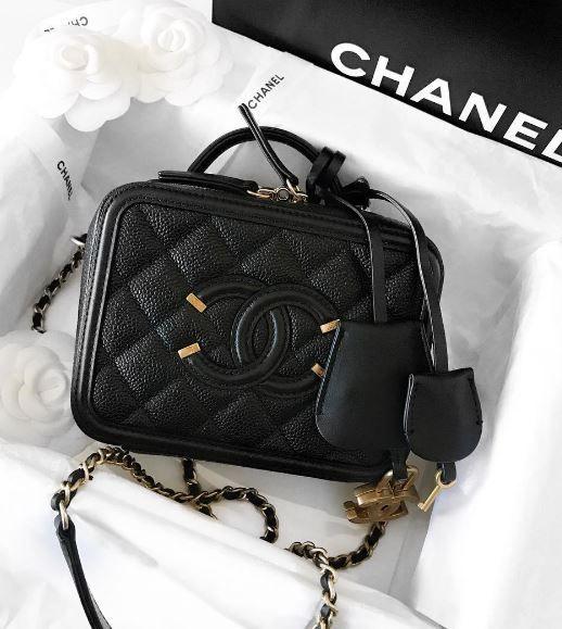 chanel vanity case bags taschen pinterest liebe. Black Bedroom Furniture Sets. Home Design Ideas