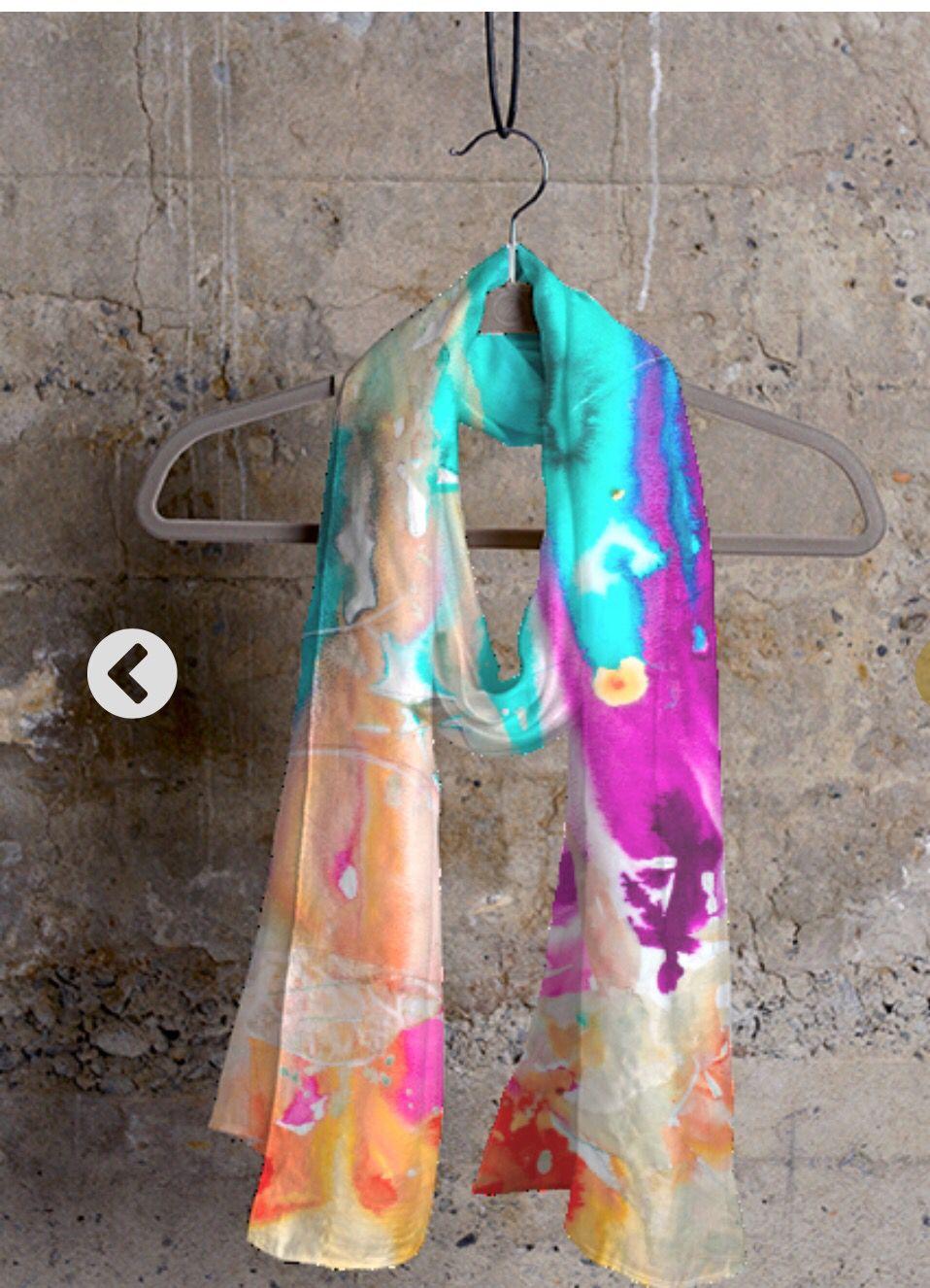 Cashmere Silk Scarf - Feel The Love Scarf by VIDA VIDA E4NpkH6xr