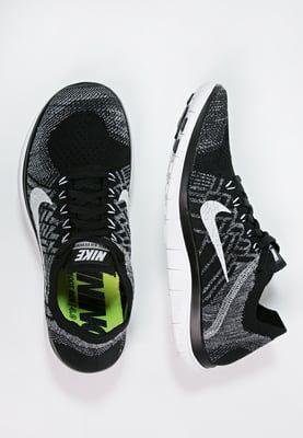 principalmente oveja conferencia  Nike Performance FREE 4.0 FLYKNIT - Zapatillas running neutras -  black/white/wolf grey/dark … | Running shoes fashion, Running shoes street  style, Nike air max mens