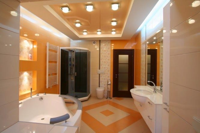 Latest tips for false ceiling designs for bathroom for Fall ceiling designs for bathroom
