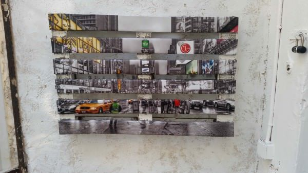 DIY Wood Pallets Picture Art Wall Decor