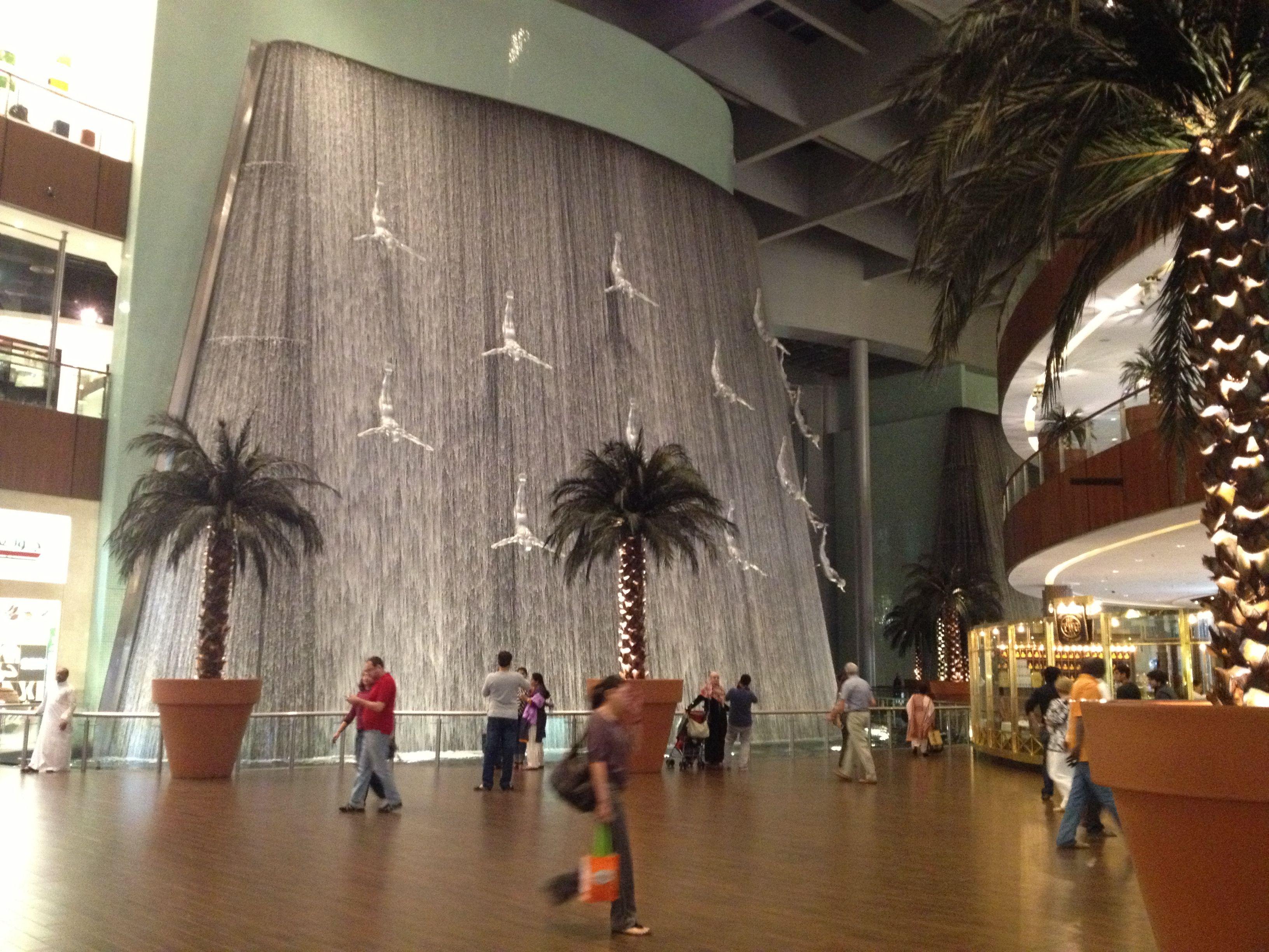 Dubai Mall Waterwall