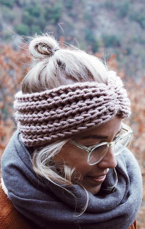 Photo of Kostenlose Strickanleitung: Stirnband mit Twist #knitheadbandpattern – minifacto …