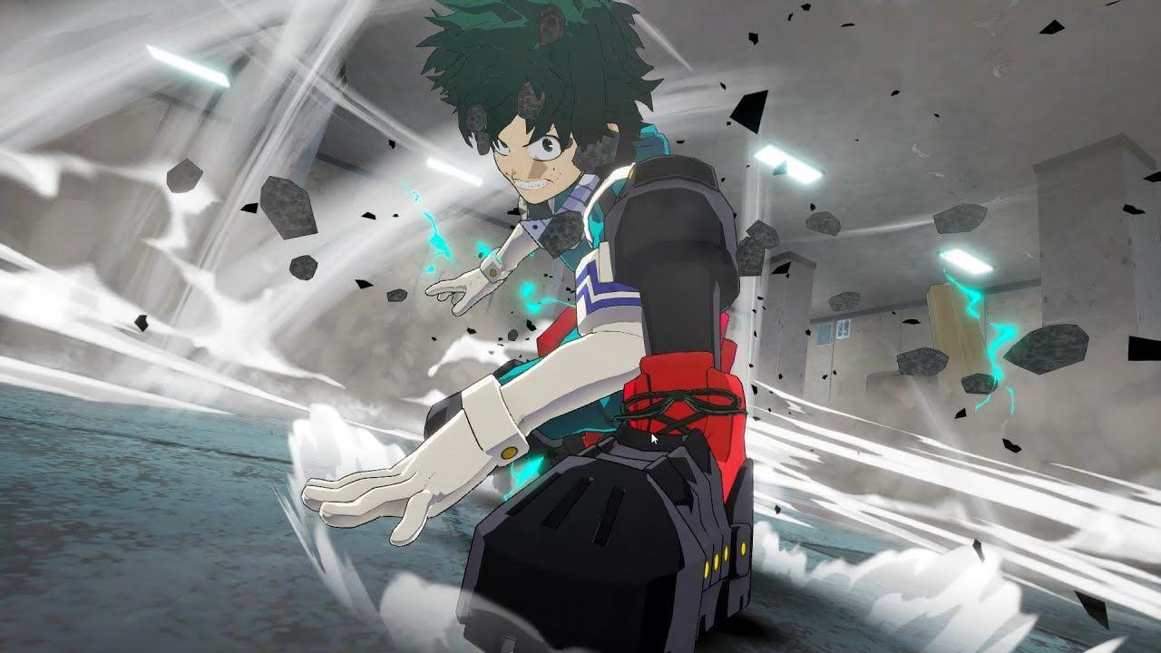 My Hero Ones Justice 2 Izuku Midoriya Vs Eijiro Kirishima Gameplay Pc Gameplay My Hero Kirishima