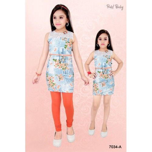 889e6ceb6c Pin by Zaras Collection on Girls Dresses Online | Tops for leggings ...