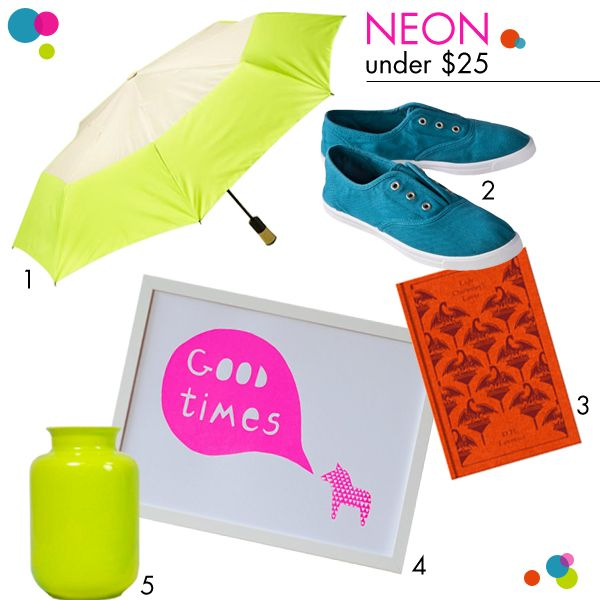 neon gear roundup under $25