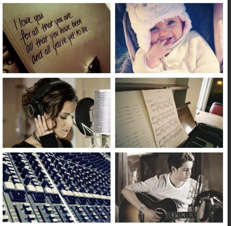 AU Meme 5: You and Niall write and record a song together and dedicate it to your little girl. Hope y'all  like it! This is just a little thank you for all the voting y'all have been doing! I love you guys! xx -E