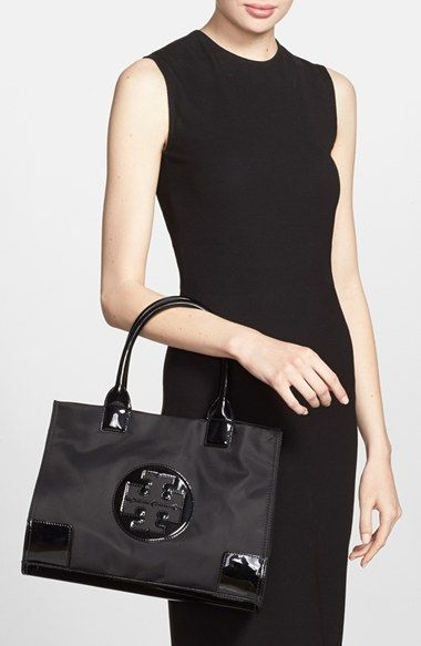 fd06c505c134 Tory Burch  Ella - Mini  Nylon Tote - perfect for shopping and days in the  city!