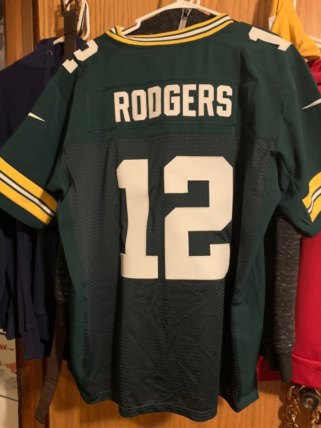 Aaron Rodgers Jersey Xl Good Condition Aaron Rodgers Jersey Aaron Rodgers Sports Tshirt Designs