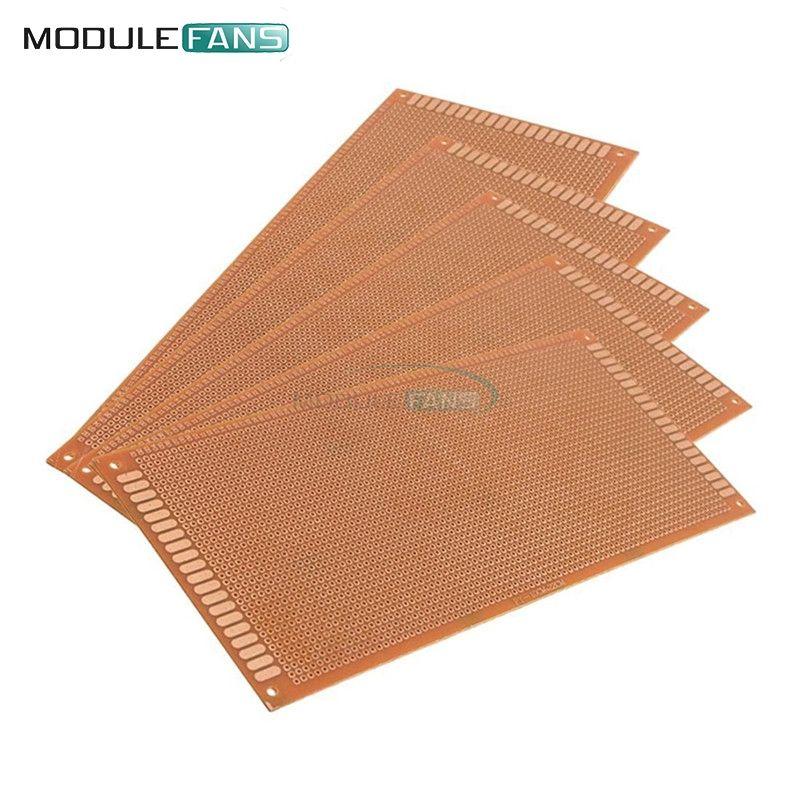 Single Sided Copper Clad Circuit Board Bakelite //Fibre Glass PCB  Universal