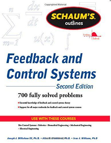 Feedback and Control Systems Schaum\u0027s Outline Series PDF Pinterest - control systems engineering pdf