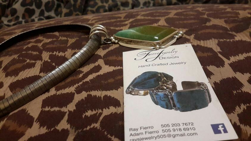 https://www.facebook.com/adam.fierro.96?fref=ts&__nodl  This dear boy whom ive adopted sent me this gift months ago After a long illness ive all pieces together n wearing And finally depicted Attention all u jewellery lovers everywhere...