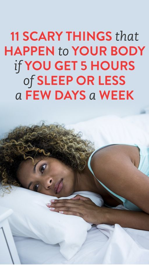 Things That Can Happen If You Don T Sleep Enough 5 Hours Of Sleep Sleep Health 6 Hours Of Sleep