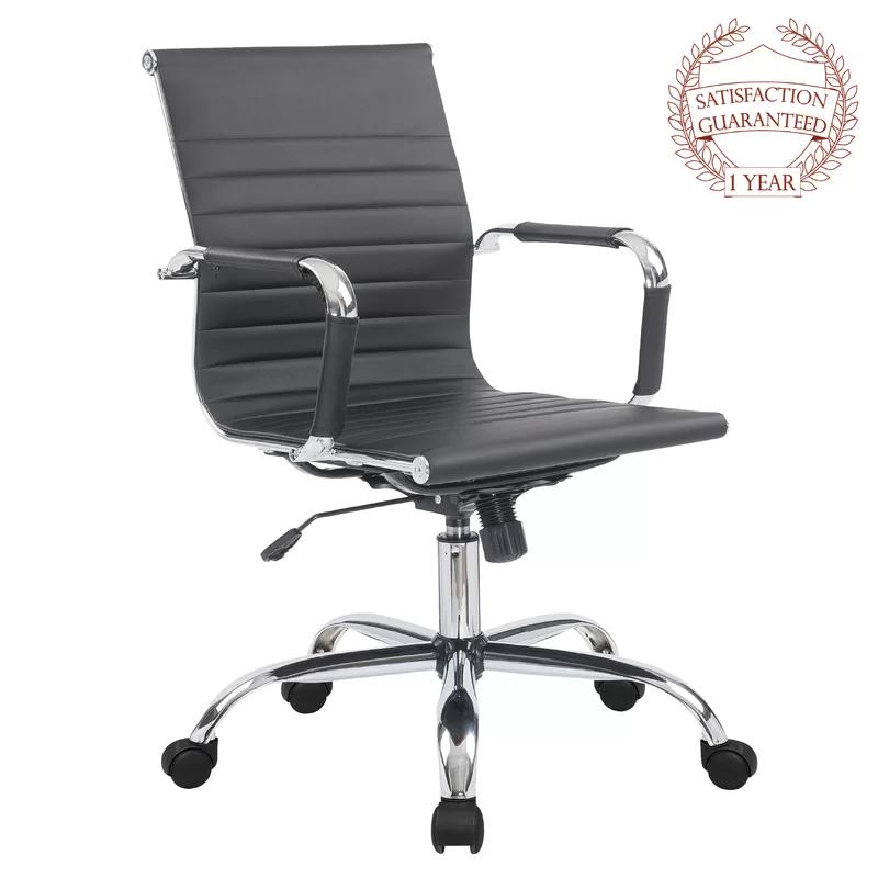 Wayfair Basics High Back Desk Conference Chair Adjustable Office