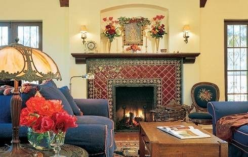 Ceramic Tile Fireplace Mantels