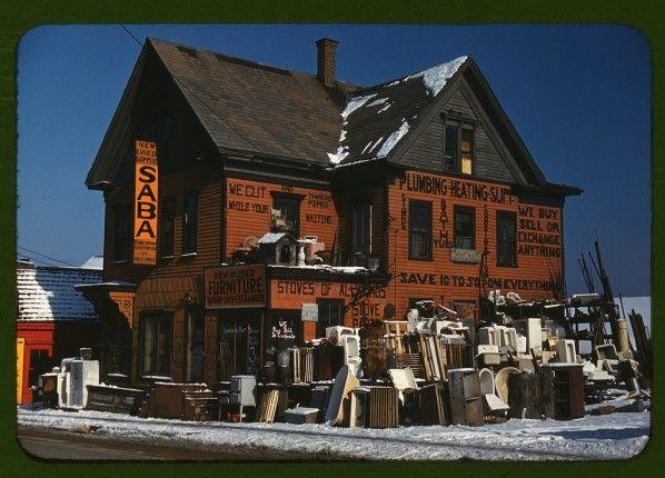 Colour Photographs of American Store Fronts - Retronaut