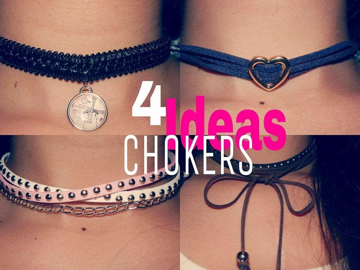Como Hacer Chokers Y 4 Ideas Super Faciles Barbara Castro