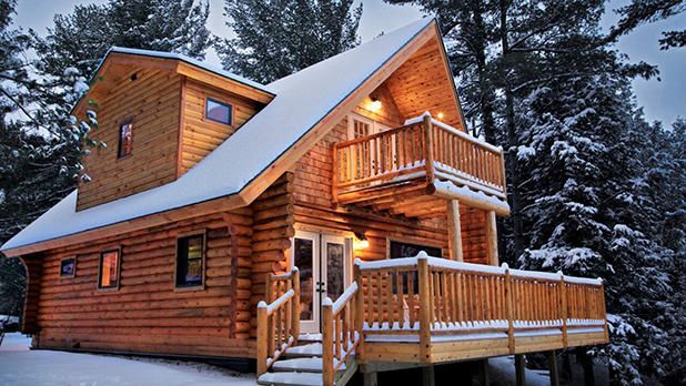 6 Cozy Cabins For The Perfect New York Winter Vacation Getaway Cabins Log Cabin Kits Log Homes