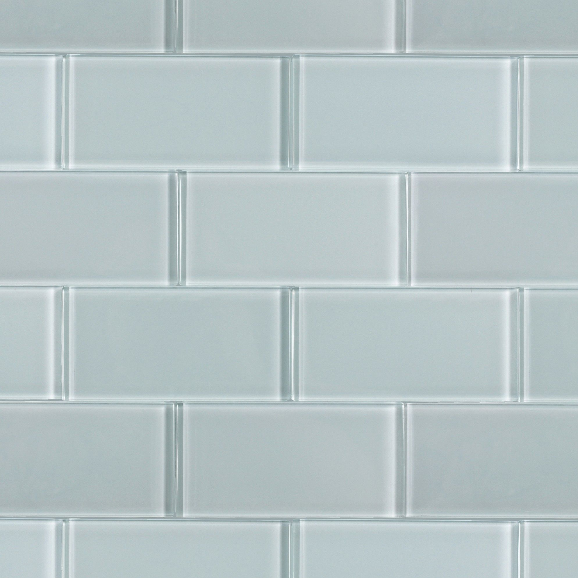 Loft Natural White 3x6 Polished Glass Tile | Kitchens, LUHHHV \'em in ...