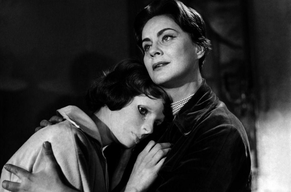 """Les yeux sans visage"" by Georges Franju (1960) - Edith Scob & Alida Valli.  """