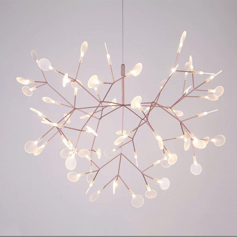 New Modern Plant Pendant Light Led Chandelier Lighting Heracleum Ii Ceiling Lamp Ebay Branch Chandelier Ceiling Lights Led Chandelier