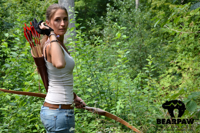 Hot archery women — img 10